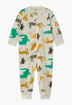 Lindex - MULTI ANIMAL UNISEX - Pyjamas - light dusty white