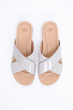 UGG - KARI - Hausschuh - white, light brown