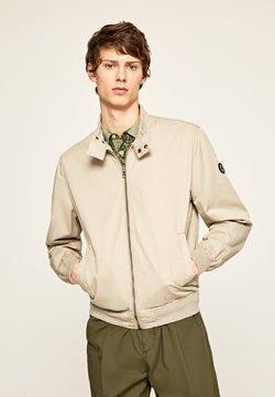 Pepe Jeans - LEADON - Bomber Jacket - grain beige