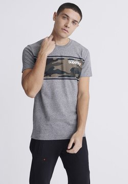 Superdry - T-Shirt print - light grey