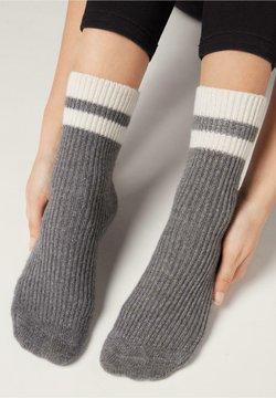 Calzedonia - Socken - grigio medio melange
