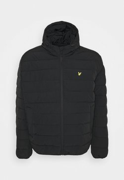 Lyle & Scott - PLUS LIGHTWEIGHT JACKET - Winterjacke - jet black