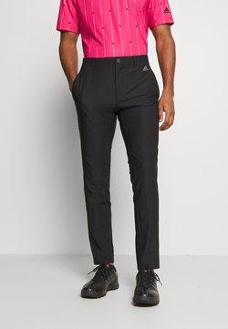 adidas Golf - ULTIMATE SPORTS GOLF PANTS - Broek - black