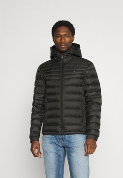 Tommy Hilfiger - PACKABLE HOODED JACKET - Daunenjacke - black