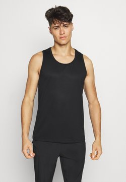 Casall - STRUCTURED TANK - Toppi - black