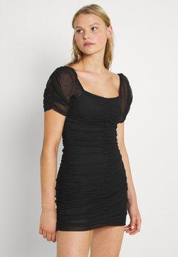 Vila - VIANEMONE GATHERING DRESS - Cocktailkleid/festliches Kleid - black