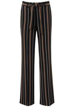 DAY.LIKE - HOSE WIDE-LEG - Stoffhose - schwarz/multicolor