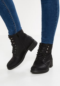 Anna Field - Bottines à lacets - black