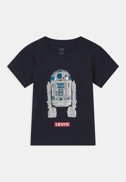 Levi's® - STAR WARS R2D2 UNISEX - T-Shirt print - obsidian