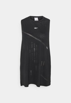 Reebok - BURNOUT TANK - Funktionsshirt - black