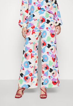 Never Fully Dressed - FREYA PRINT TROUSER - Broek - multi