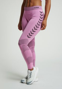 Hummel - FIRST SEAMLESS - Tights - cotton candy