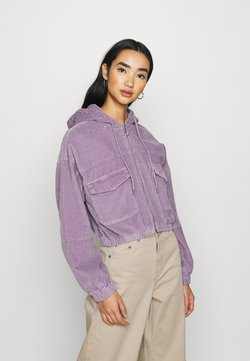 BDG Urban Outfitters - PATCH POCKET JACKET - Summer jacket - purple