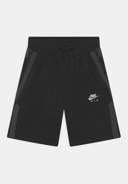 Nike Sportswear - AIR - Shortsit - black/dark smoke grey/white