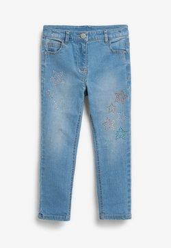 Next - HEATSEAL STAR  - Jeansy Skinny Fit - blue