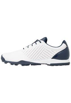 adidas Golf - ADIPURE SC - Obuwie do golfa - footwear white/collegiate navy/true pink