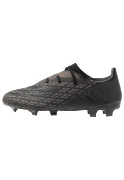 adidas Performance - X GHOSTED.2 FOOTBALL BOOTS FIRM GROUND - Moulded stud football boots - core black/grey six