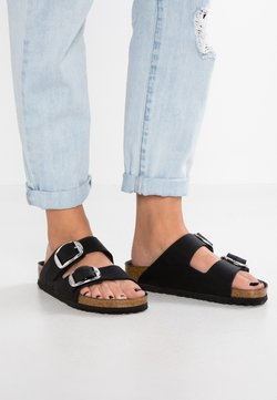 Birkenstock - ARIZONA BIG BUCKLE - Slip-ins - black
