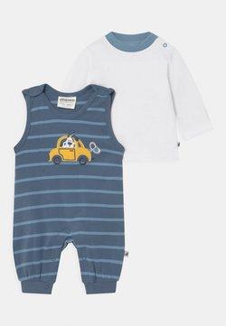 Jacky Baby - HAPPY CAR FRIENDS SET - T-shirt à manches longues - blue/white