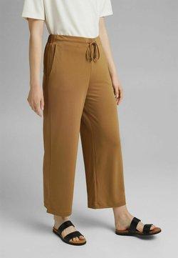 Esprit Collection - CLEAN CULOTTE - Broek - bark