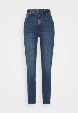 PIECES Tall - Straight leg jeans - dark blue denim