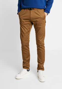 TOM TAILOR - TECHNICAL CHINO - Chinot - light creme beige