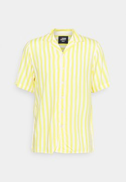 Denim Project - EL CUBA - Hemd - white/yellow