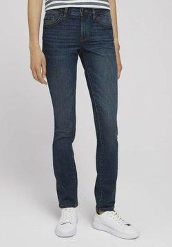 TOM TAILOR - Slim fit jeans - dark stone wash denim