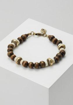 Classics77 - LIMA BEADED BRACELET - Bracelet - brown
