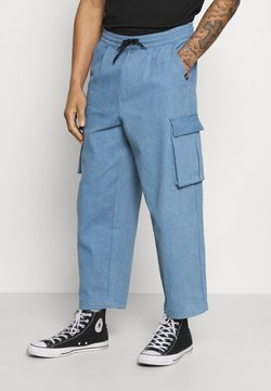 Vintage Supply - BAGGY CARPENTER TROUSERS - Trousers - light denim