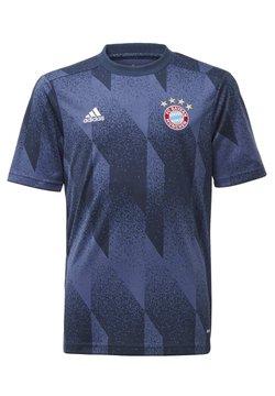 adidas Performance - FC BAYERN MÜNCHEN AEROREADY JERSEY - T-Shirt print - blue