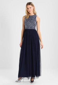 Lace & Beads - PICASSO MAXI - Ballkleid - midnight blue