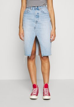 Levi's® - DECONSTRUCTED MIDI SKIRT - Gonna a tubino - broken hearted