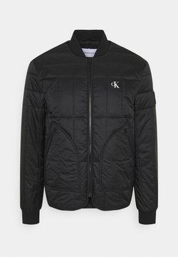 Calvin Klein Jeans - QUILTED LINER JACKET - Giubbotto Bomber - black