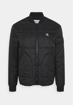 Calvin Klein Jeans - QUILTED LINER JACKET - Bomber Jacket - black