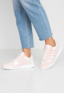 adidas Originals - A.R. TRAINER - Sneakers basse - core white/true pink/orchid tint