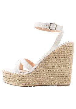 RAID - ELISHA - Korolliset sandaalit - white