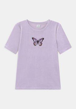Lindex - VIOLA - Printtipaita - light lilac