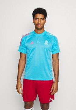 adidas Performance - REAL MADRID AEROREADY SPORTS FOOTBALL - Fanartikel - light blue