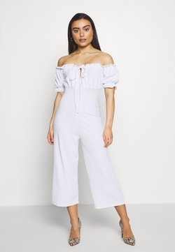 Missguided Petite - MILKMAID BARODT - Combinaison - white