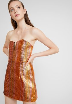 Alice McCall - ELECTRIC NIGHTS MINI DRESS - Cocktail dress / Party dress - copper