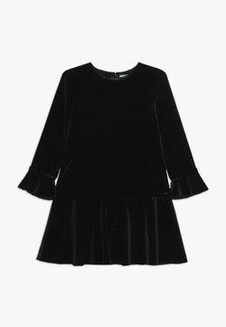 Benetton - DRESS - Cocktailkleid/festliches Kleid - dark blue