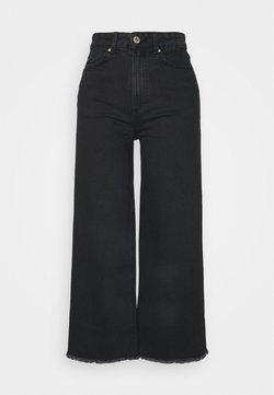 Marks & Spencer London - CROP - Jeans baggy - black