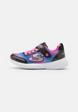 Skechers - BOBS SQUAD - Sneakers laag - black/multicolor