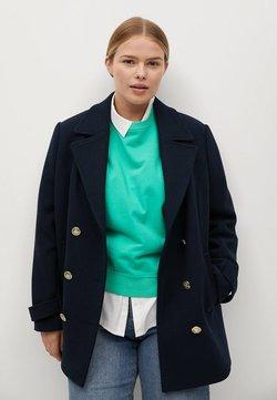 Violeta by Mango - BOTON - Short coat - námořnická modrá