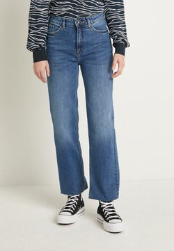 b.young - WIDE JEANS  - Relaxed fit jeans - med. blue denim