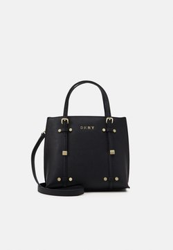 DKNY - BO MINI - Handtasche - black/gold-coloured