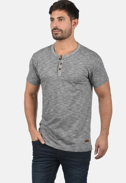 Solid - RUNDHALSSHIRT SIGOS - T-shirt basic - black