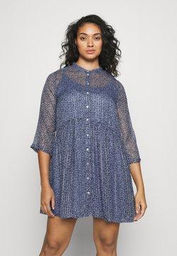 ONLY Carmakoma - CARCHICAGO LIFE DRESS - Vestido informal - dazzling blue