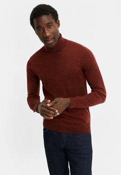 WE Fashion - Strickpullover - vintage red